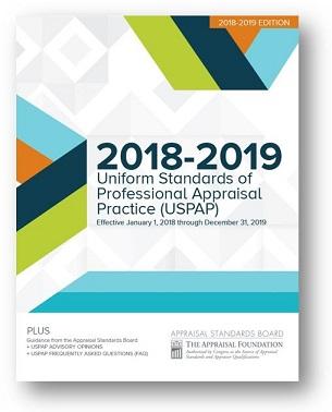 Uniform Standards of Professional Appraisal Practice (USPAP)