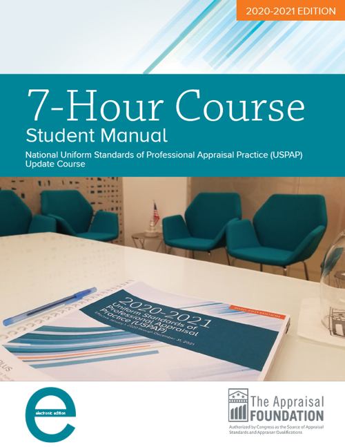2020-21 7-Hour National USPAP Update Course Student eManual