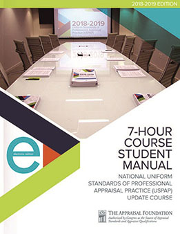 2018-19 7-Hour National USPAP Update Course Student eManual