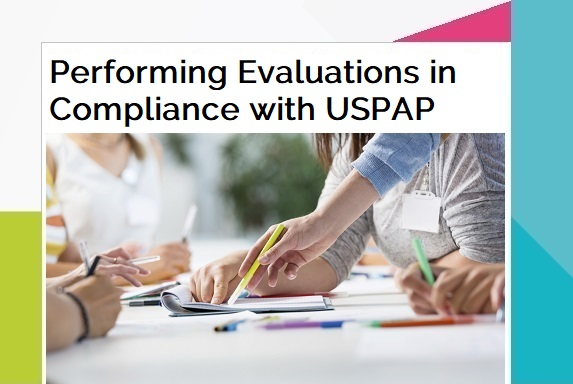 Performing Evaluations in Compliance with USPAP