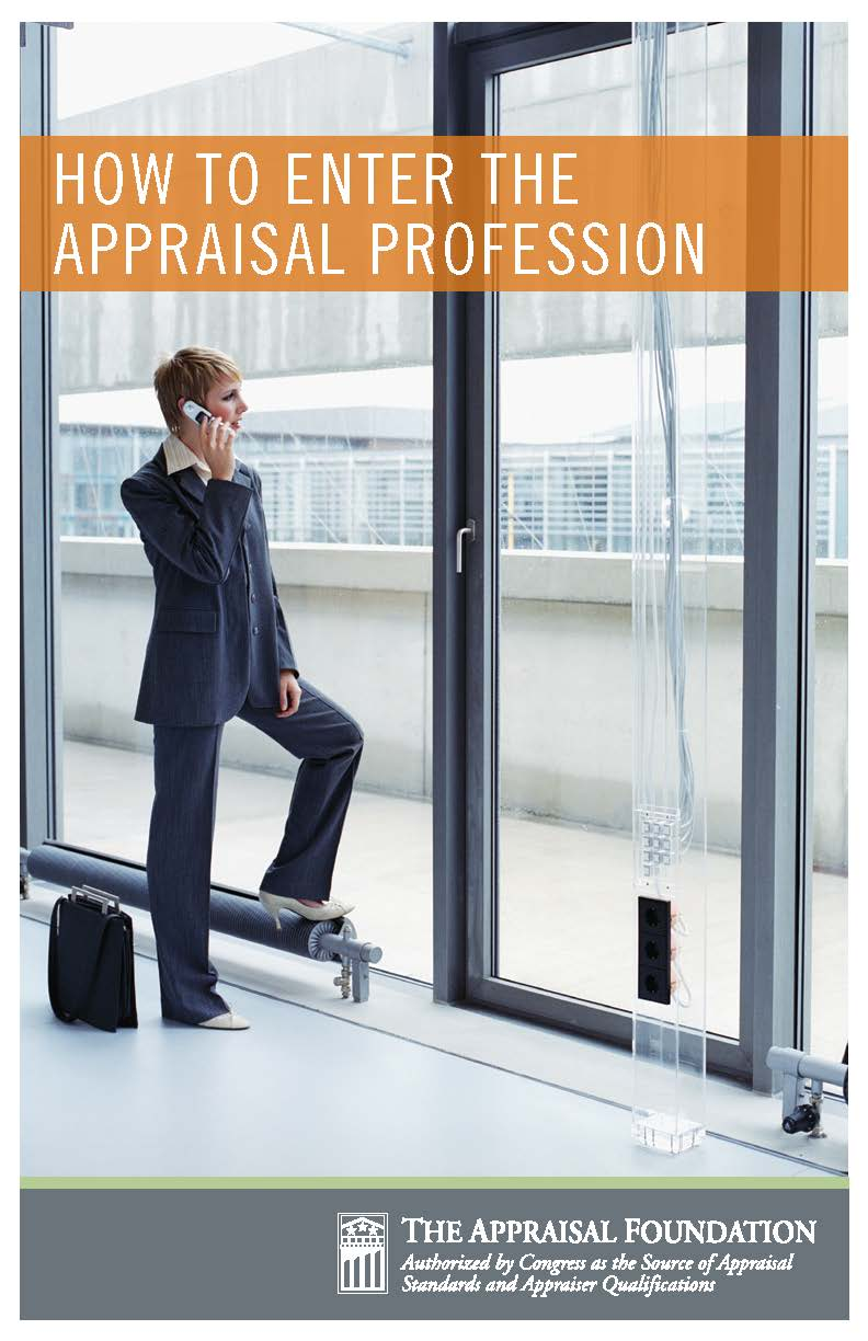 How to Enter the Appraisal Profession