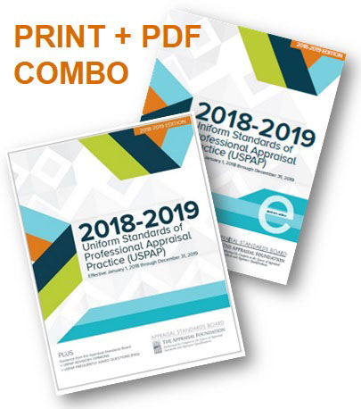 2018-19 USPAP Combo Package Deal (Hard copy & Electronic)