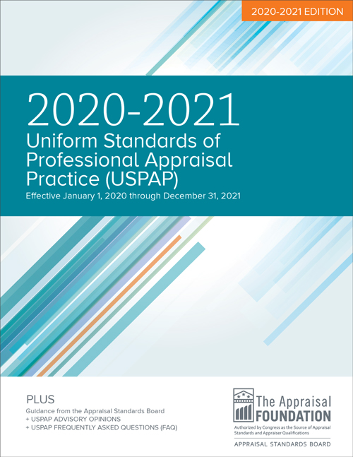 2020-21 Uniform Standards of Professional Appraisal Practice