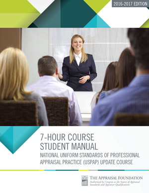 2016-17 7-Hour National USPAP Update Course Student Manual