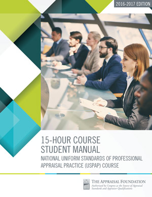 2016-17 15-Hour National USPAP Course Student Manual