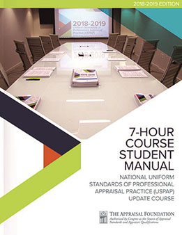 2018-19 7-Hour National USPAP Update Course Student Manual