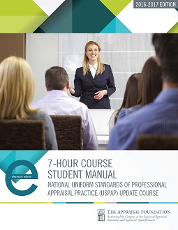 2016-17 7-Hour National USPAP Course Student eManual